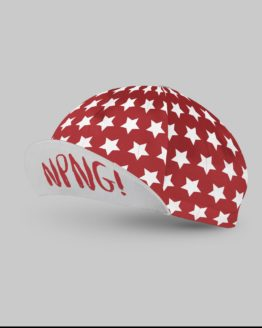 No Pain no gain red cycling cap